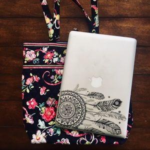 Vera Bradley laptop travel tote